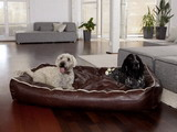 Zvierací pelech Dogbed Leather Brown XXL